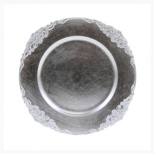 Vintage Silver Charger Plate
