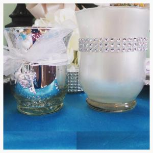 Silver Votive Holders