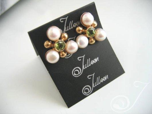 Maja Peridot Earrings