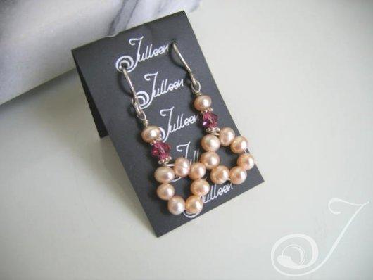 Pink Musk Drop Earrings