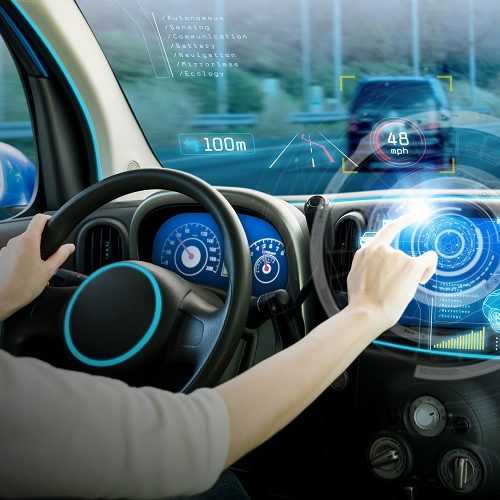 Automotive applications include safety systems, instrumentation displays, electric vehicle battery systems and more.