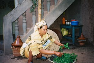 """When I was in Morocco I had tea at this woman's house. In """"Zabel"""" the characters drink lots of mint tea. The memory of the woman sorting leaves and adding boiling water with the subsequent mint aroma filling the room helped me to add that detail to the novel."""