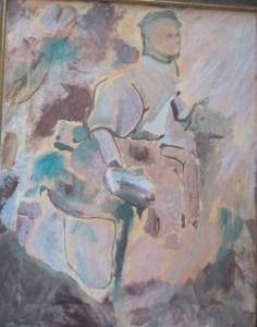 "Ancient Goddess Oil on Canvas 16""x 20"" $1300"