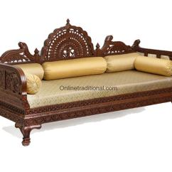 Indian Style Sofa Set Designs Long Low Design Carving Teak Wooden Maharaja Sets Pearl