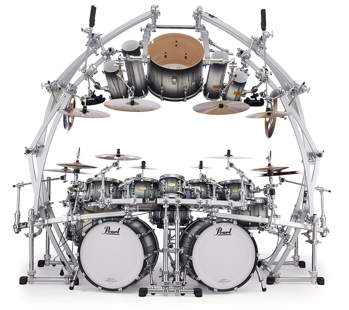 pearl drums icon rack system