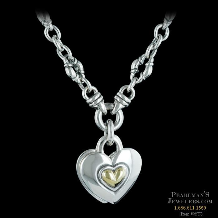 Scott Kay Sterling Jewelry Scott Kay Silver Heart Pendant