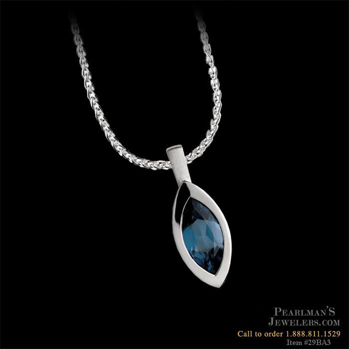 Bastian Inverun Jewelry Sterling Silver London Blue Topaz