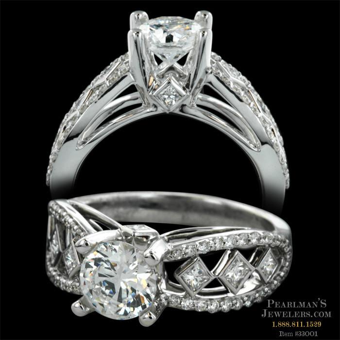 Peter Storm Jewelry Naked Diamonds Split Shank Ring