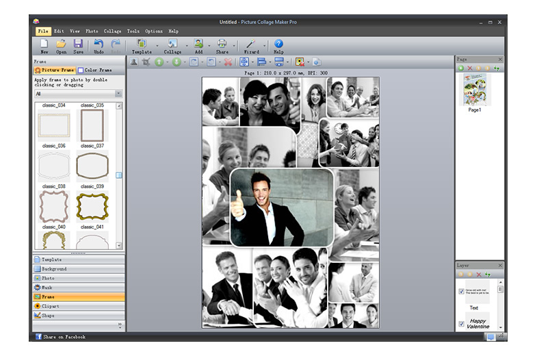 picture collage maker photo