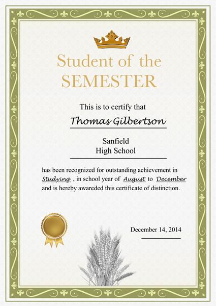 promotion certificate templates