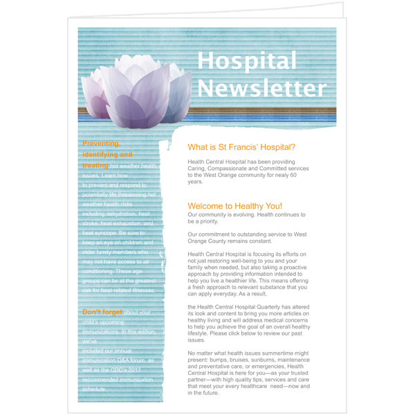 publisher newsletter templates