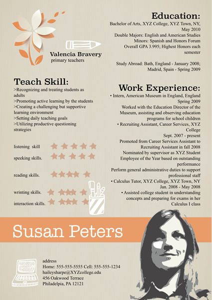 Resume Templates & Samples – Design Resume From Free