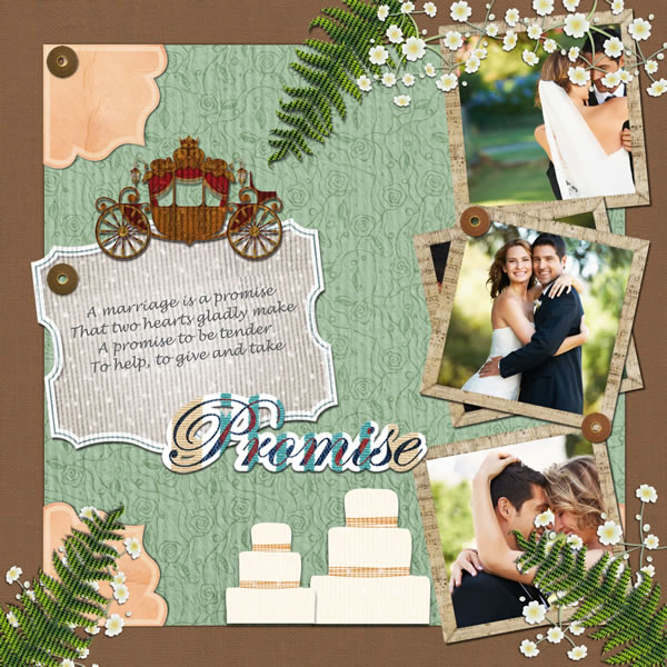 Wedding Scrapbook Templates Wedding Scrapbook Designs