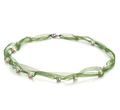 lace multi strand pearl necklace