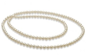 how to wear pearl necklace