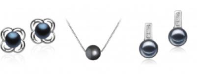 freshwater black pearls