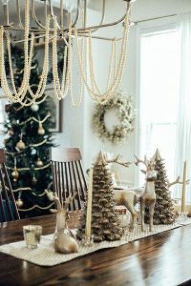 pearl christmas garland