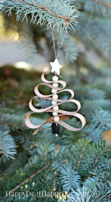 pearl tree ornament
