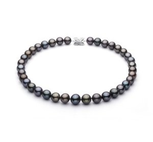 tahitian black pearl necklace