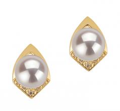 akoya pearl earrings with diamonds