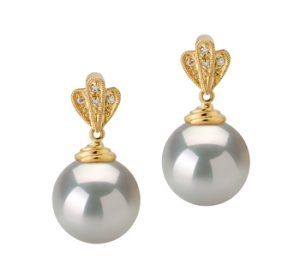 pearl earrings wedding
