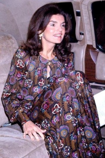 jackie o kennedy long dress