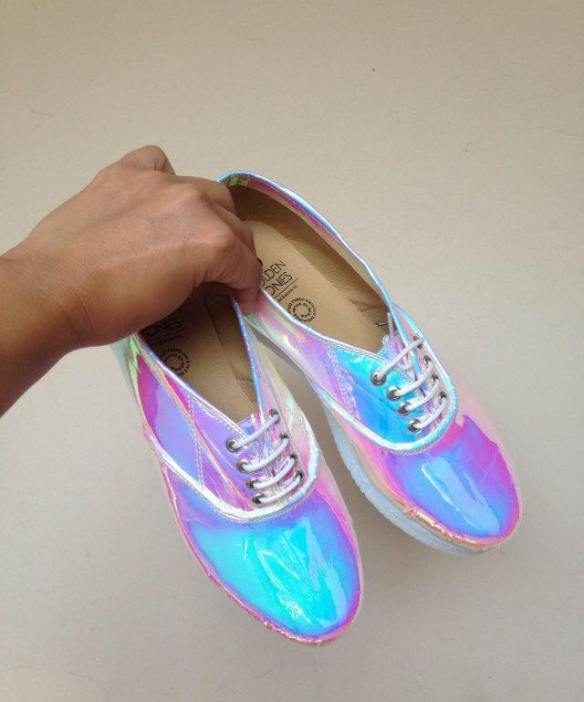 holographic shoes