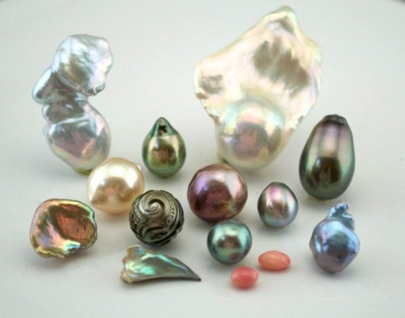 natural pearls
