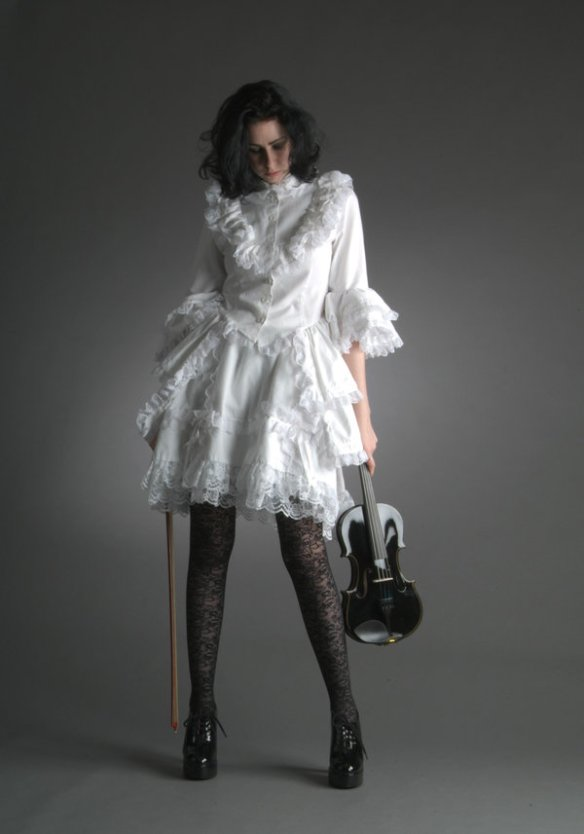 goth model