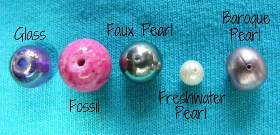 real pearl holes