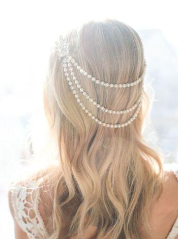 hair pearl accessories