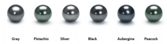 tahitian black pearl colors