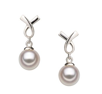 akoya pearls earring set