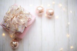 christmas pearl decorations