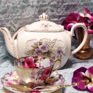 high tea party china