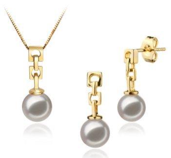 akoya pearls set