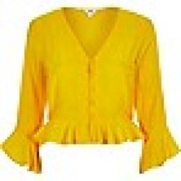 yellow blouse
