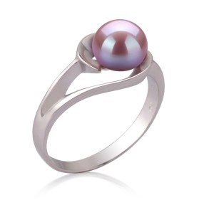 lavender pearl rings for women