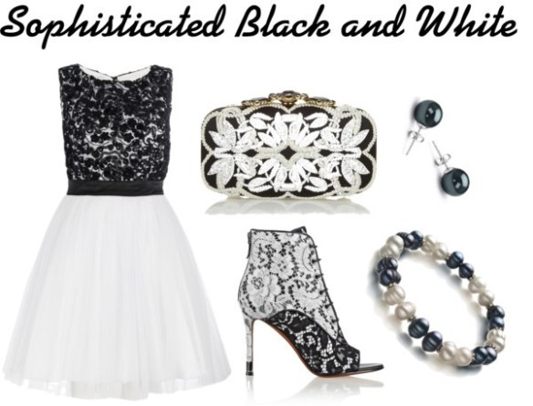 Sophisticated in Black and White