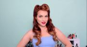 hair diy 1940's 50's pinup