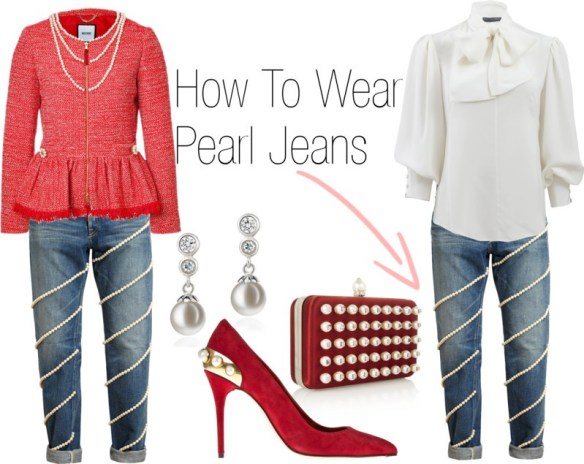 Pearls Only Fashion: How to Wear Pearl Jeans