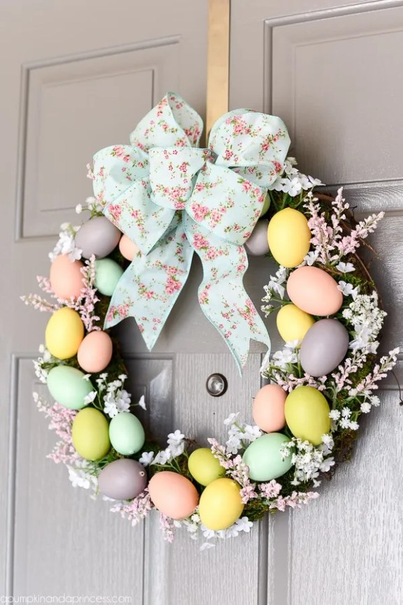 outdoor easter decorations