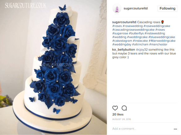 Pearl Wedding Cake | 68 Dazzling Pearl Wedding Cakes We Found On Instagram Pearlsonly