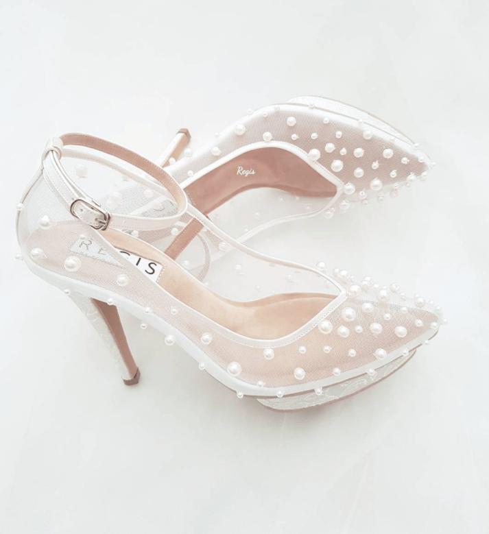 Beautiful Pearl Wedding Shoes \u0026 7 Tips