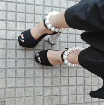 pearl sandals