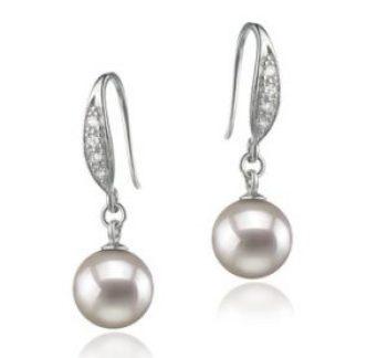 Wie Perlenohrringe wie Marilyn Monroe tragen