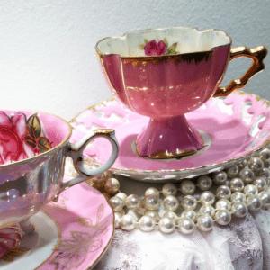 High Tee-Party Porzellan-Tasse