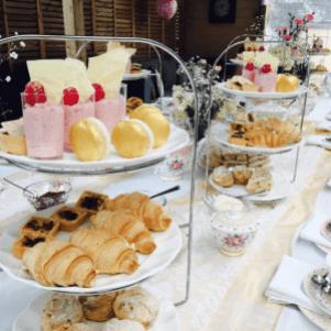 High tea Party-Seta-Einstellung