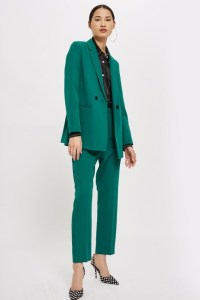 green emerald suit