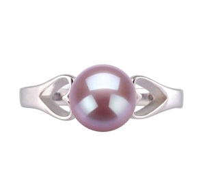 lavender pearl ring